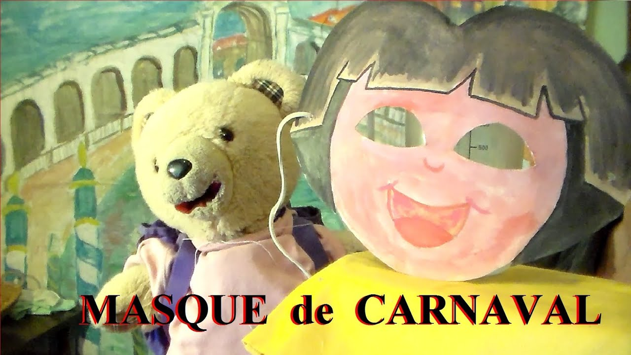 masque de carnaval dora activit manuelle facile faire pour enfant youtube. Black Bedroom Furniture Sets. Home Design Ideas