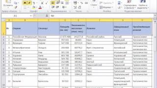 Excel 2010 для начинающих 10 Выравнивание данных