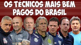 Quem são os 13 técnicos mais bem pagos no Brasil, com salários gigantes