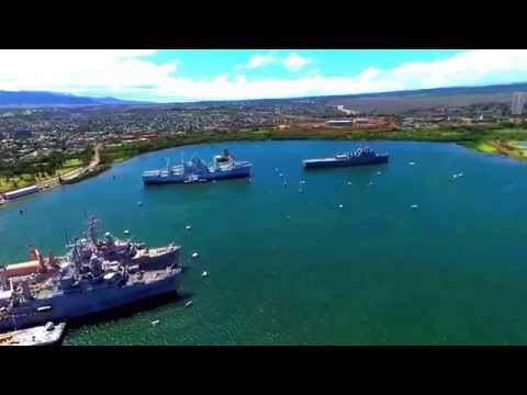 Hawaii - Pearl Harbor - Retired Navy Ships