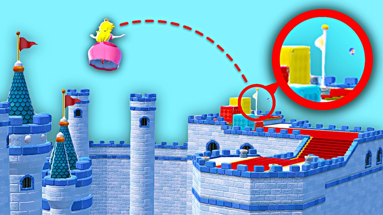 What if Peach could Float FOREVER in Super Mario 3D World?