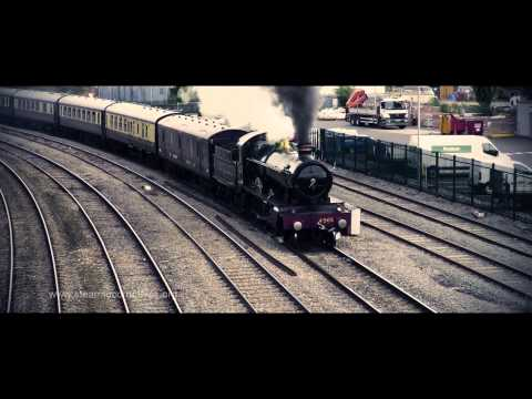 The Welsh Marches Express GWR 4965 Rood Ashton Hall - Steam Locomotive