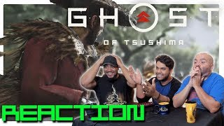 E3 2018 Ghost of Tshushima Gameplay | REACTION!