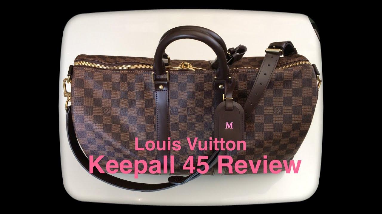 Louis Vuitton Keepall 45 Bandoulière Review - YouTube cfcb43c58876c
