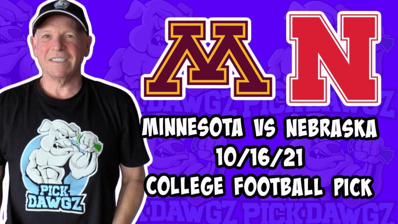 Minnesota vs. Nebraska odds, line: 2021 college football picks ...
