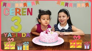 ceren-artk-3-yanda-ceren39s-3-birthday-family-party-pretend-play-video-for-kids-amp-babies