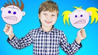 Поделки Меняющие Лицо | Игрушки для детей своими руками