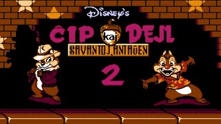Chip 'n Dale: Rescue Rangers 2 (NES, Esperanto)
