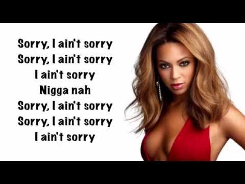 Beyoncé - Sorry (Official Lyrics)