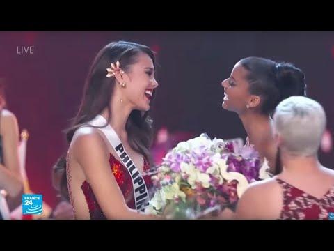 الفلبينية كاتريونا غراي تفوز بلقب ملكة جمال الكون 2018  - 10:55-2018 / 12 / 17