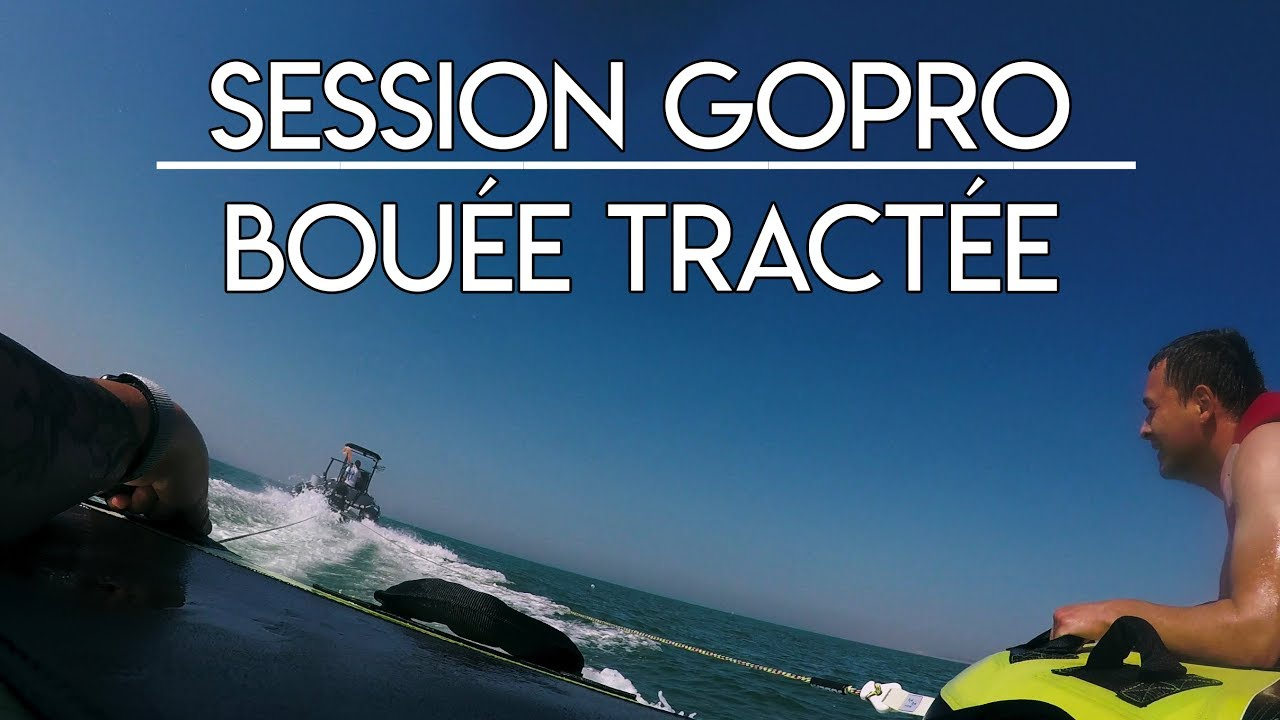 SESSION BOUEE TRACTEE - KITE'N WAKE - LE TOUQUET PARIS PLAGE-
