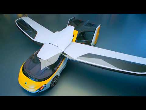 AeroMobil - Flying Car 4.0 Promo [1080p]