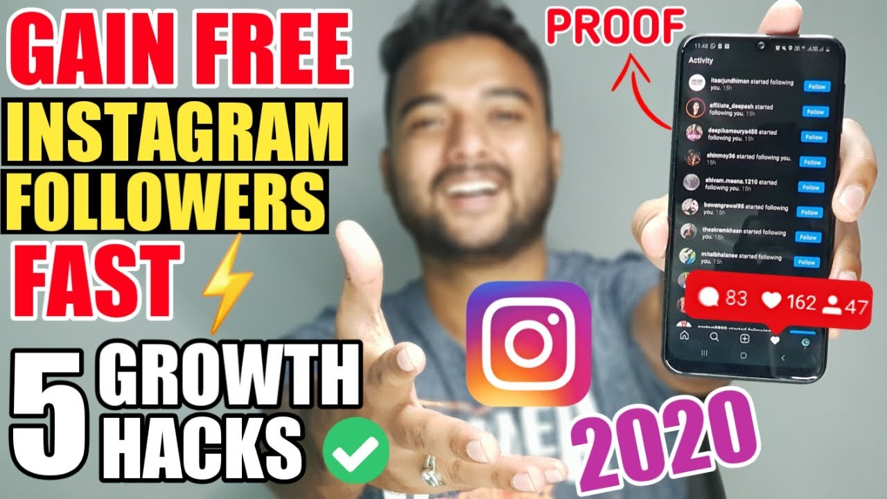 ✅ HOW TO INCREASE FOLLOWERS ON INSTAGRAM for FREE (2020) 🔥 Instagram Par Follower Kaise Badhaye