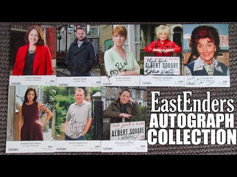 MY EASTENDERS AUTOGRAPH COLLECTION