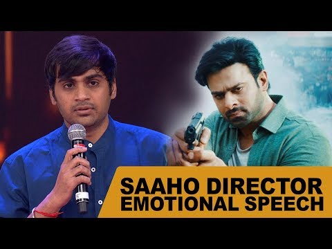 Saaho Director Sujeeth Gets Emotional About His Achievement Mp3