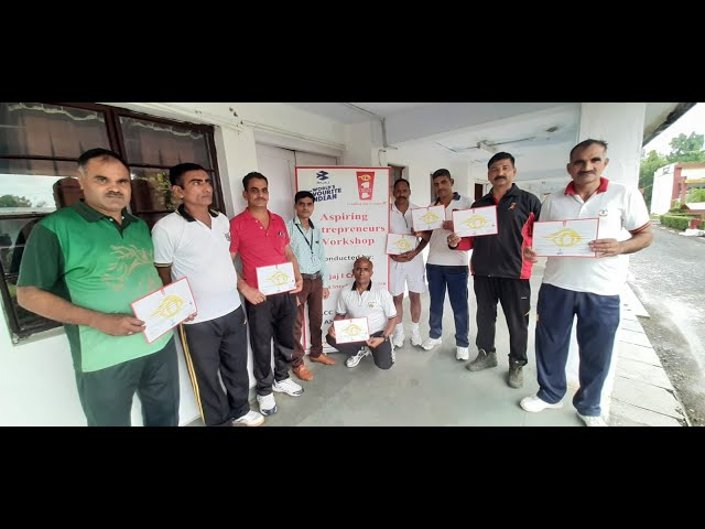 NB/RIS Eklakh Khan's feedback on the workshop conducted at Bajaj I Create BIC, ACC&S, Ahmednagar
