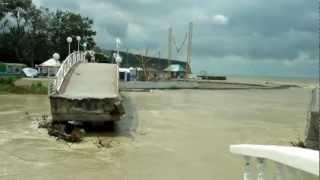 наводнение в Дивноморске   на второй день