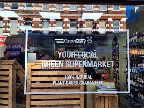 New ALL VEGAN Supermaket in London!!