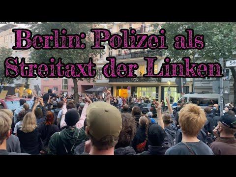 Corona-Regeln gelten nicht für Antifa: Wie die Polizei vor der Demo mit zweierlei Maß maß