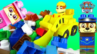 Paw Patrol Adventure Bay  Rubble In Digger Ionix Unboxing Parody by Toy Review TV