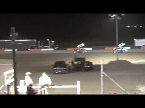 8.7.15 Attica Raceway Park 305 Sprints A Main