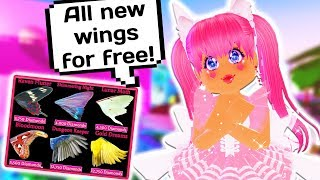 How to Get FREE EARTH WINGS in Royale High! NEW Earth Update (Roblox)