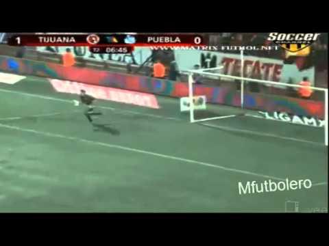 Tijuana 2 x 0 Puebla Jornada 1 Apertura México 2012