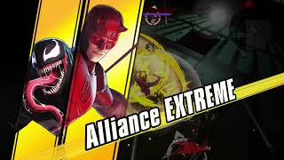 Marvel Ultimate Alliance 3 - Bullseye Bossfight: Crystal, Venom & Scarlet Witch Gameplay (2019)