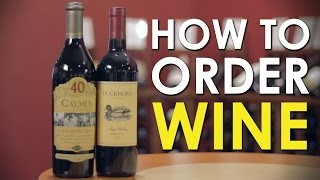 How to Order Wine | The Art of Manliness
