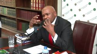Prof Makau Mutua Interview by Judicial Service Commission Part 2