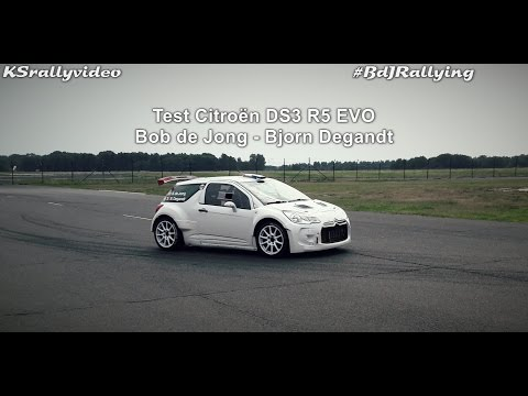 TEST | Citroen DS3 R5 EVO | Bob De Jong By KSrallyvideo [HD]