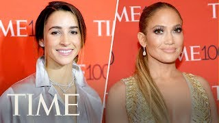 Jennifer Lopez, Aly Raisman & More TIME 100 Honorees On The #MeToo Movement | TIME 100 | TIME