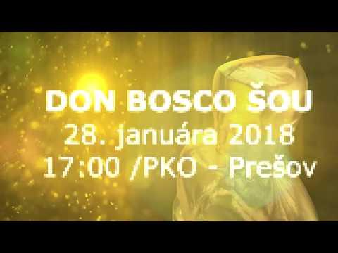 Don Bosco SHOW 2018 / Pozvánka