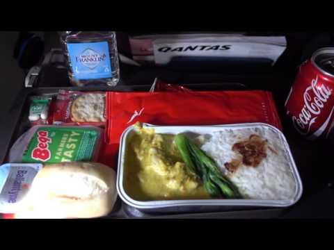 Qantas A330-200 (new interior) Perth to Sydney