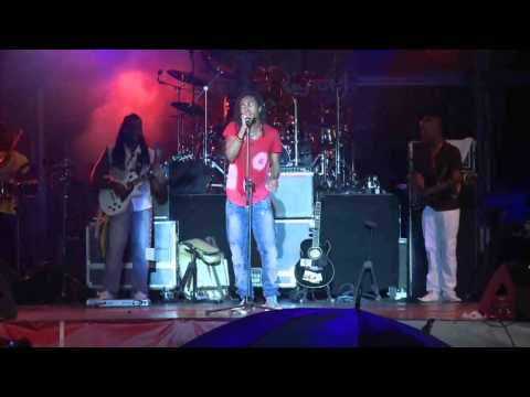 Jah Cure performance at the World Creole Music Festival in Dominca