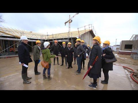 Une délégation danoise au Village Landais Alzheimer