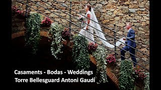 CASAMENTS BODAS WEDDINGS TORRE BELLESGUARD ANTONI GAUDÍ