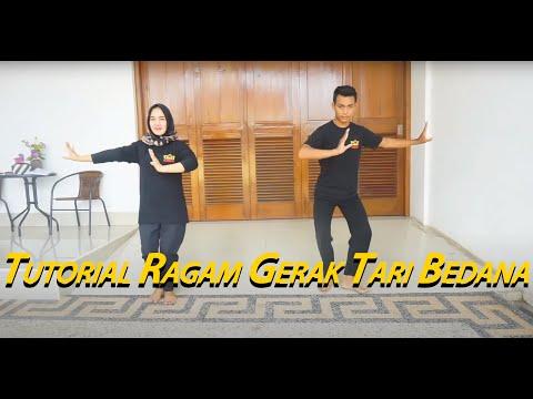 Tutorial Ragam Gerak Tari Bedana Lampung
