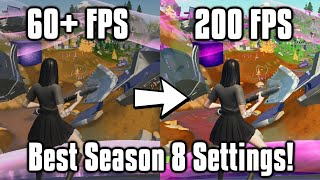 Fortnite Season 8 Seтtings Guide! - FPS Boost, Colorblind Modes, & More!
