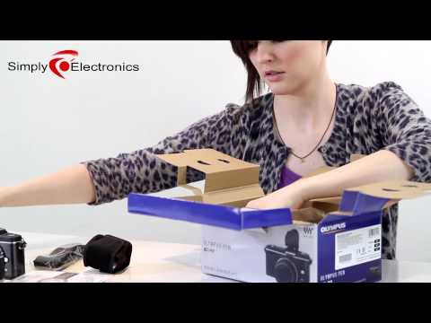 Olympus EP-2 Unboxing and hands-on | Simply Electronics