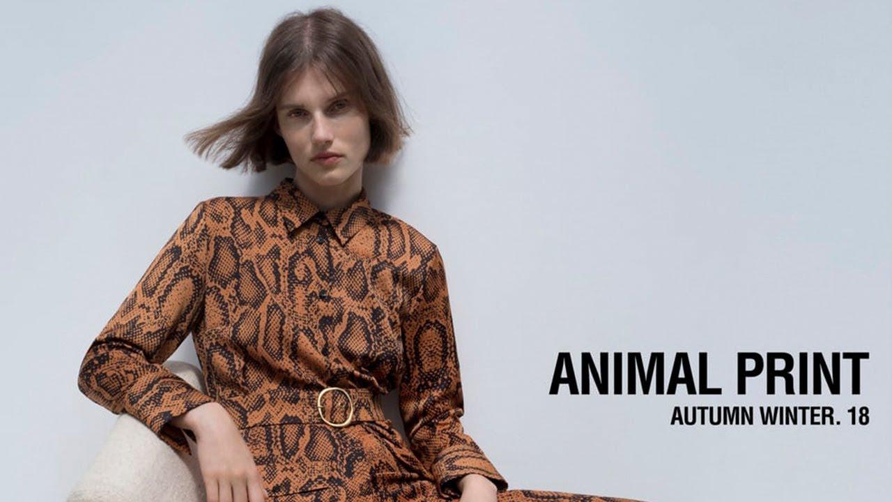 especial para zapato compre los más vendidos última selección de 2019 ZARA Mujer - Tendencia ANIMAL PRINT 2018