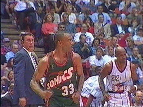 Houston Rockets - Seattle Sonics - Playoffs 1997 - VF George Eddy