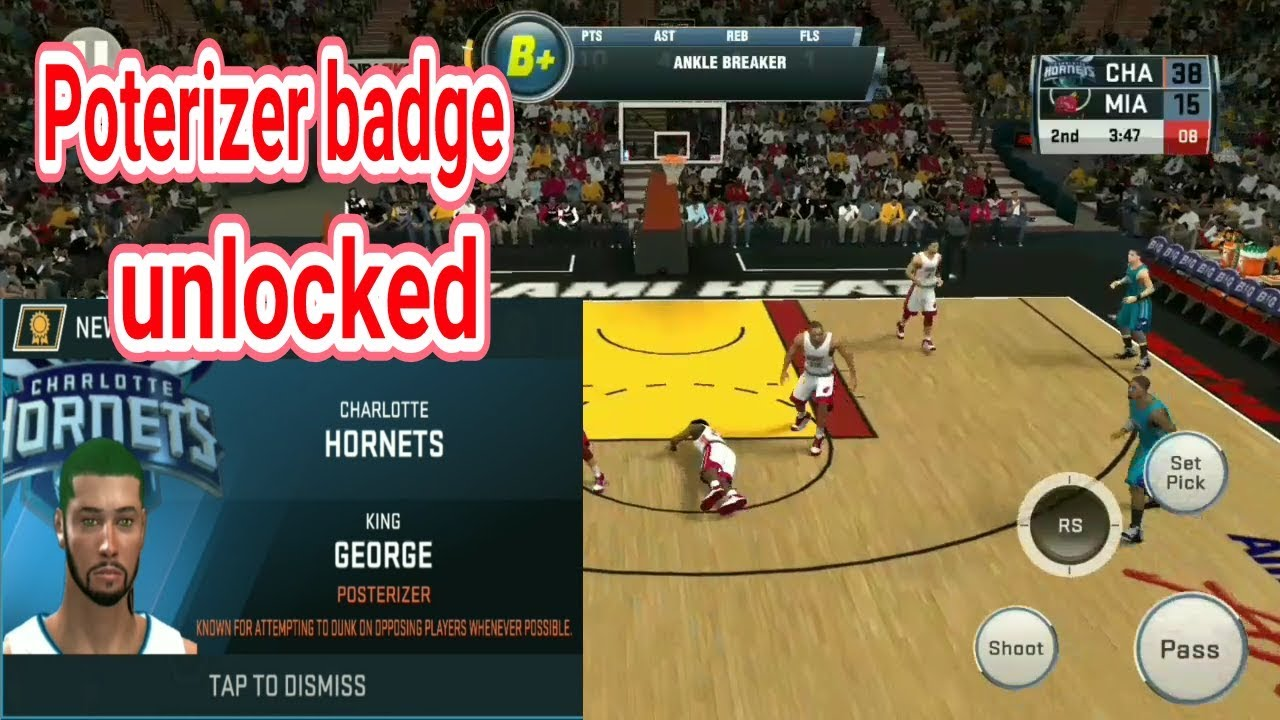 sale retailer 9b08a 6fca9 nba2k18 IOS android unlocked posterizer badge   NBA.city