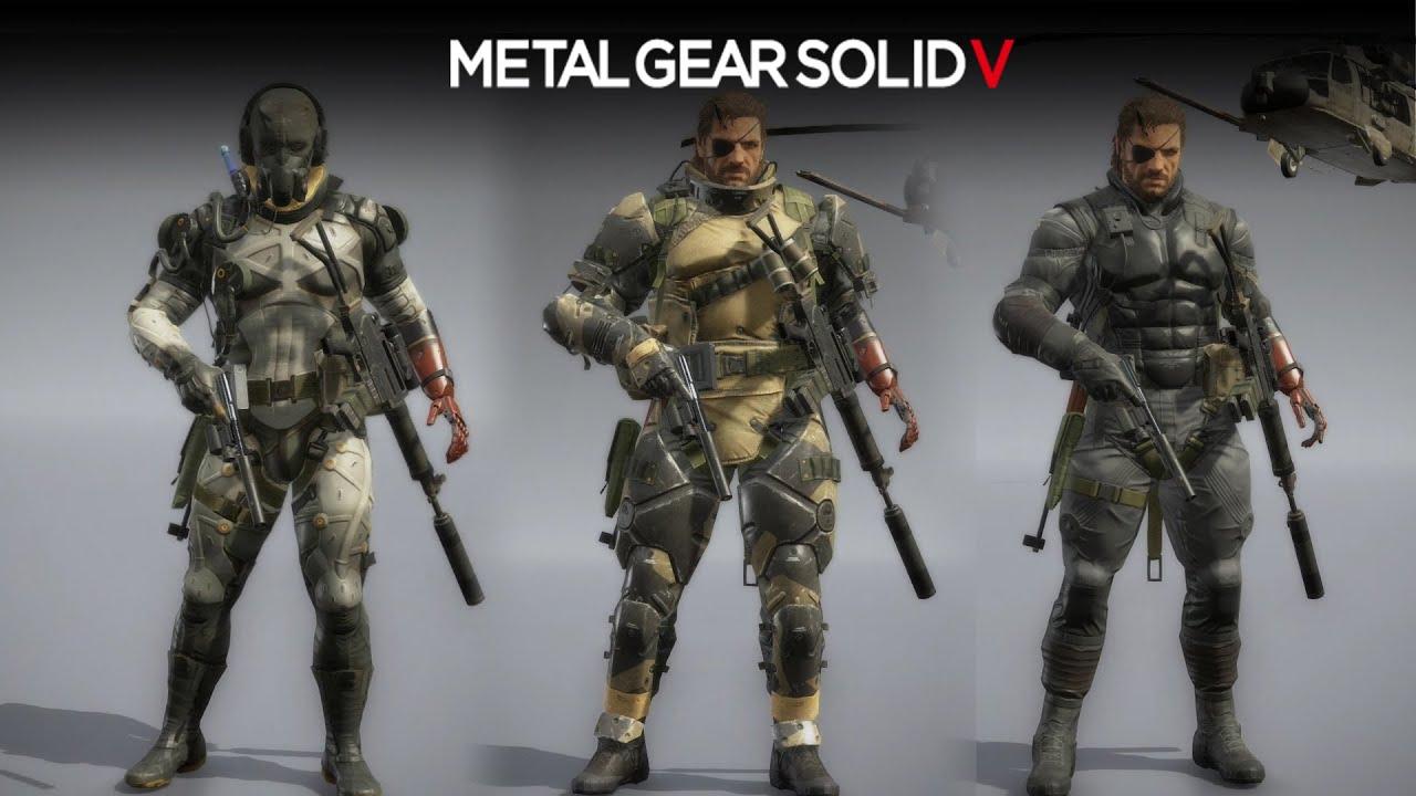 Metal Gear Solid 5: The Phantom Pain - Grade 4 Uniforms  (Parasite/Sneaking/Battle Dress Suits)