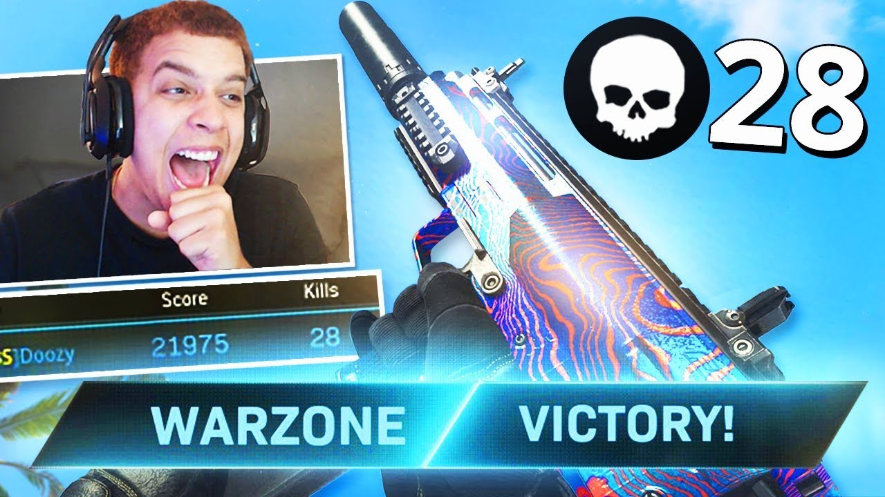 28 KILL GAMEPLAY!! BEST GUN TO USE IN WARZONE! (Modern Warfare WARZONE)