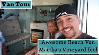 VanLife Tour: Van looks like it Should be on Martha's Vineyard