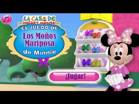 La casa de mickey mouse el juego de los mo os mariposa de - La casa de mickey mouse youtube capitulos completos ...