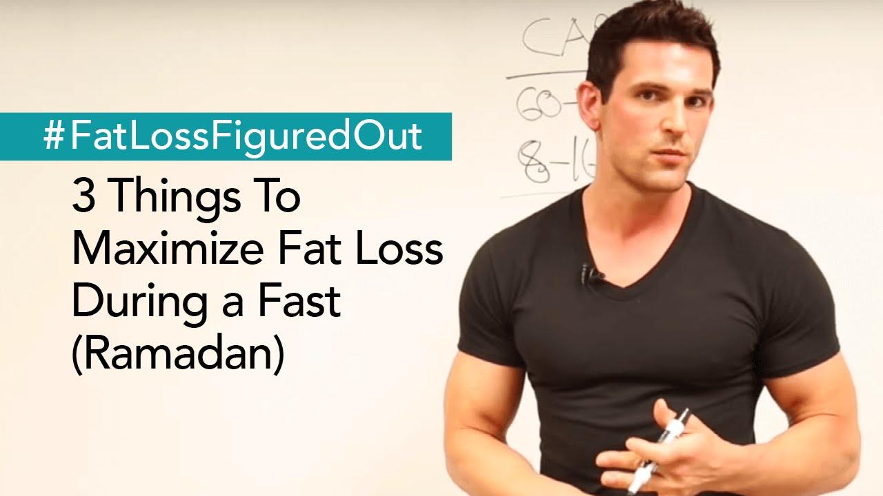Maximise fat loss