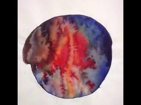 - Imaging medical I - watercolor on paper - Sketchbook