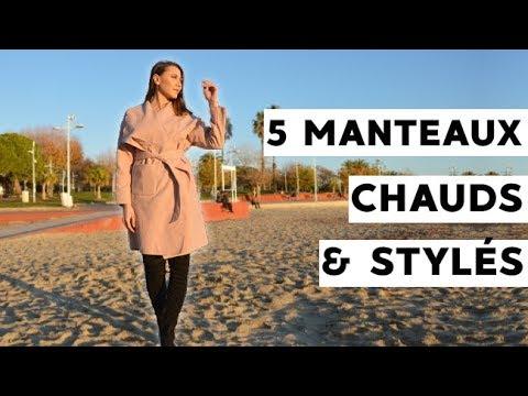 5 manteaux pour femme d'hiver stylés qui te tiendront au